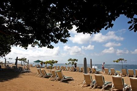 sanur: Scenery of the beautiful Sanur beach, Bali Editorial