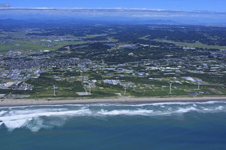 Omaezaki Wind Farm, Aerial Photography