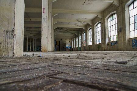 abandoned: abandoned factory