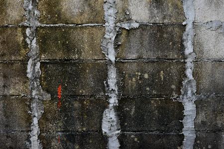 Grunge concrete square block texture Stock Photo