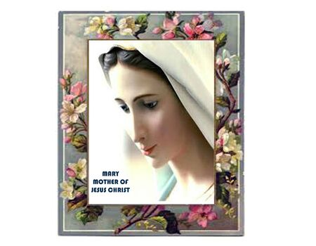 gentleness: Our Blessed Virgin Mary