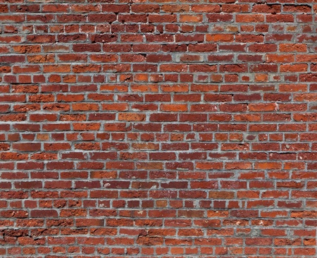 붉은 벽돌 벽