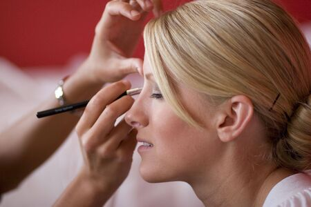 Applying Makeup photo