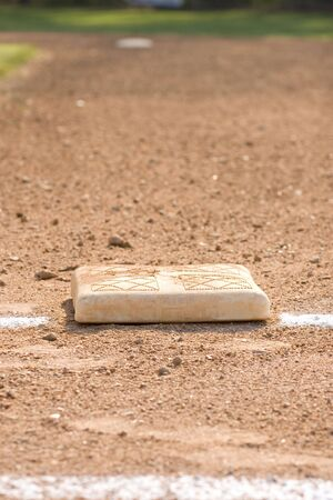 Honkbal-base  Stockfoto