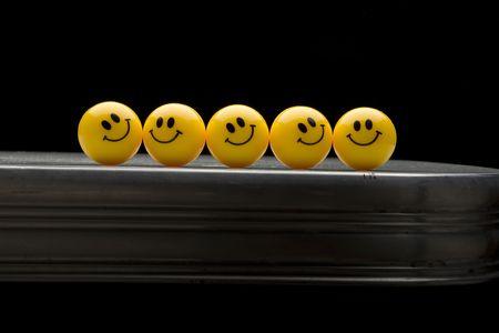 웃는 얼굴들