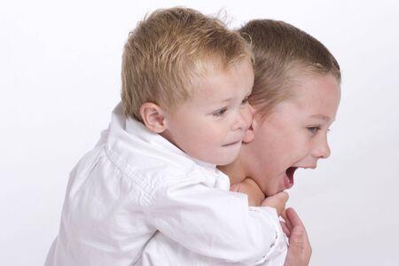Young Boys Having Fun Stock Photo - 7065337