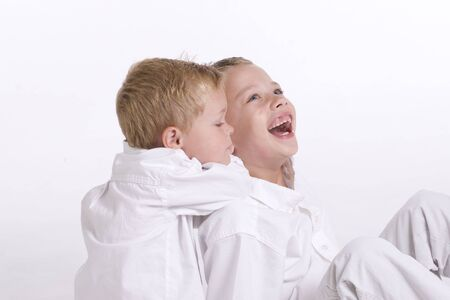 Young Boys Having Fun photo