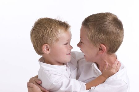 Brothers Embracing Stock Photo - 7065339