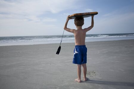 Young Boy at the Beach Stock Photo - 7380690
