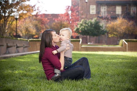 Mother and Son Stock Photo - 9019161