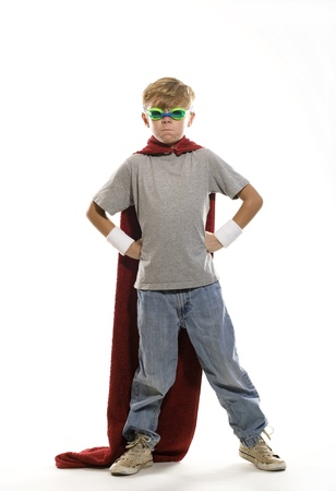 superhero cape: Young Super Hero
