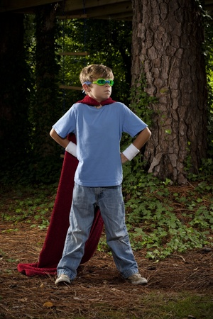 Young Super Hero Stock Photo - 10793874