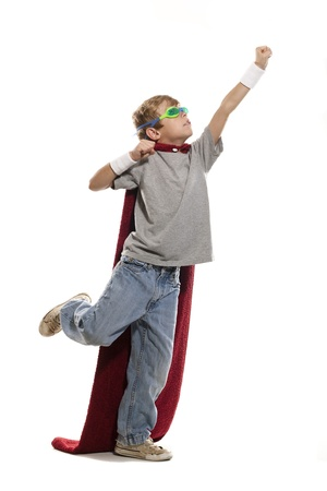 Young Super Hero Stock Photo - 12337241