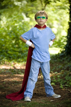 Young Super Hero Stock Photo - 12337252