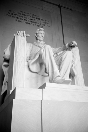 Lincoln Memorial in Washington D.C. Stock Photo - 12287542