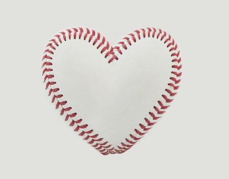 Honkbal Steken in de vorm van een hart