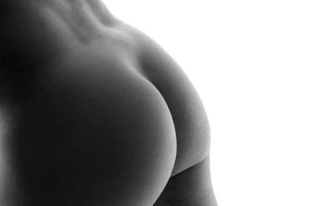 buttock: el arte labr� el tiro de un extremo desnudo masculino