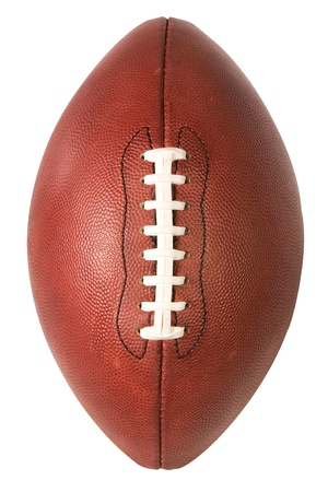 American Pro Football over top view Stock Photo - 10464436