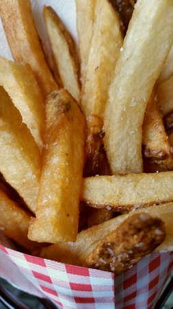 frites: Pommes Frites  Stock Photo