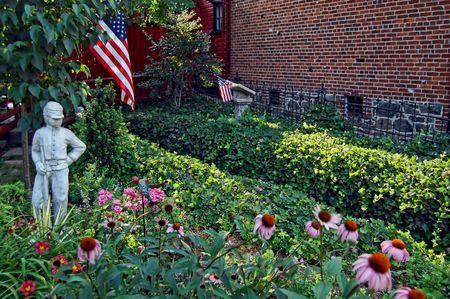 garden in gettysburg pennsylvania photo