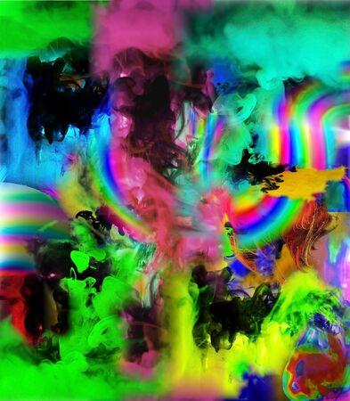 abstraction haze Фото со стока