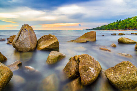 rayong: Lanhinkaow Rayong Thailand.It is most famous beach on thailand.