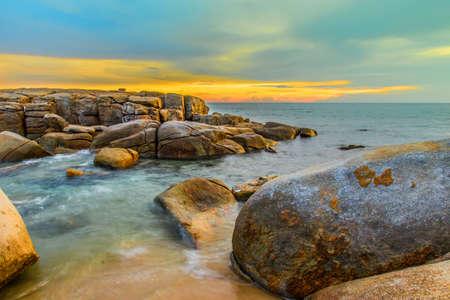 rayong: Lanhinkaow Rayong Thailand.beautiful beach Stock Photo