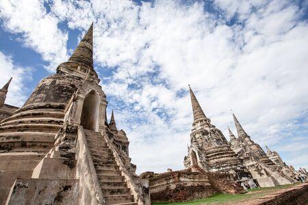 The Pagoda at Wat Phra Si San Phet, Ayutthaya, Thailand