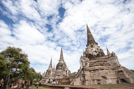 ayuttaya: The Pagoda at Wat Phra Si San Phet, Ayutthaya, Thailand