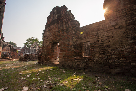 Ban Wichayen house, an ancient residence for French envoys at Lopburi,Thailand