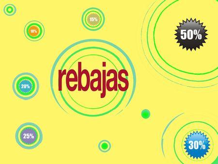 rebates: precios  Foto de archivo