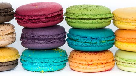 depending: A macaroon is a type of light, baked confection by French, described as meringue-like cookies depending on their consistency