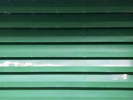 Green zinc metal sheet background Stok Fotoğraf