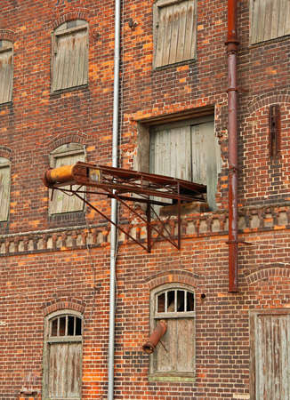 Decayed storehouse in City of WismarGermany photo