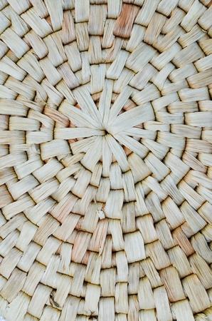 haulm: Pattern of Thai style weaving, made from Water Hyacinth haulm in vertical line