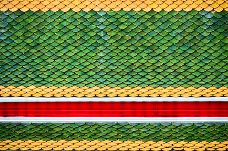 Thai temple roof texture
