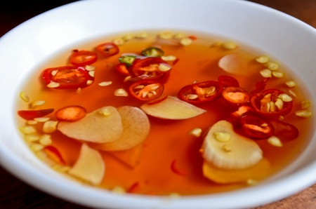 Fish sauce with garlic and chili