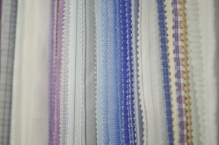 Wide range of fabrics samples photo