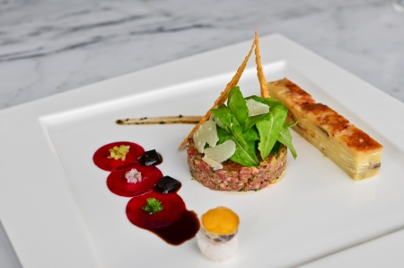 Tomahawk tartare photo