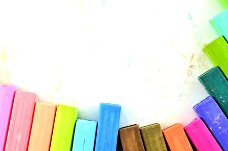 Color chalk pastels