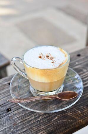 fredo: Capuccino caff� Archivio Fotografico