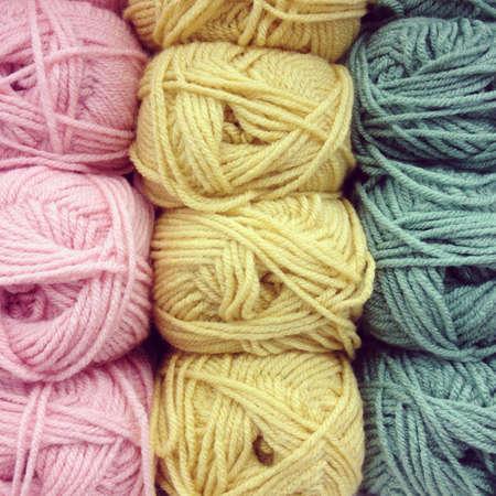 knotting: Lana di annodatura Colorful