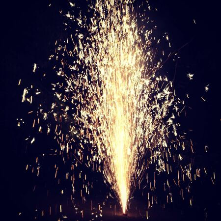 Firework at New Year