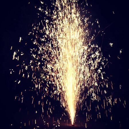 wish: Firework at New Year