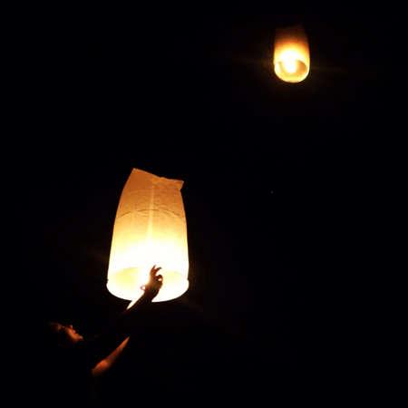 wish: Floating lantern