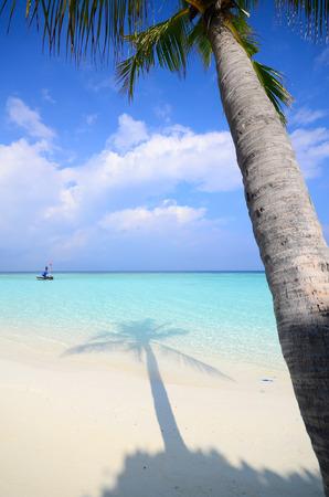 Maldives beach photo