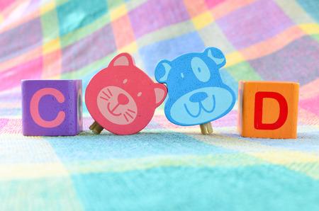 alphabet blocks: Wooden alphabet blocks toy