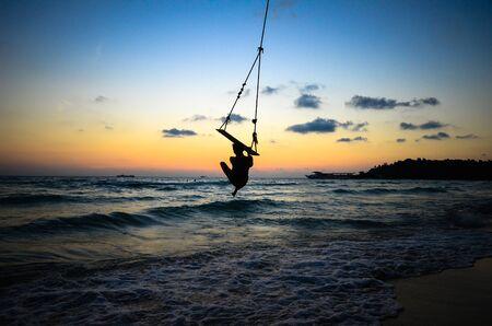 Sunset at Kood island, Thailand photo