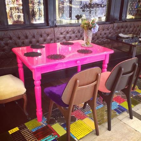 furniture: Furniture in bakery shop