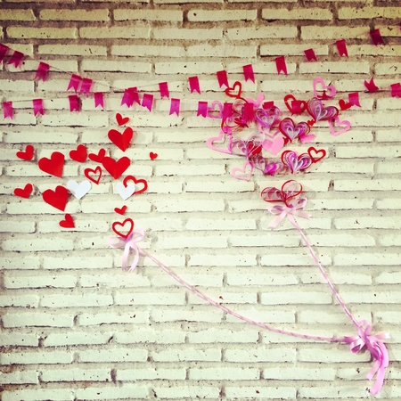 decoration: Valentine decoration
